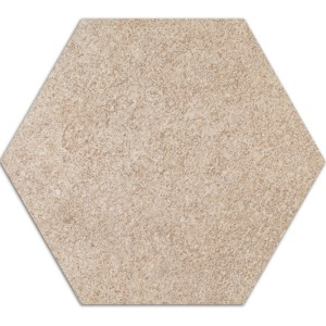 Cement Klinker Optik Hexagon Klinker Atlanta Beige