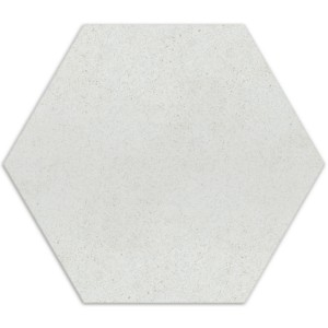 Cement Klinker Optik Hexagon Klinker Alicante Blanco