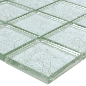Mosaik Glas Lucca Silver 48x48x8mm
