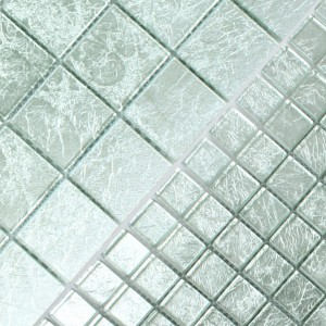 Mosaik Glas Lucca Silver